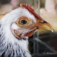 chicken print chicken art farm animal print home decor