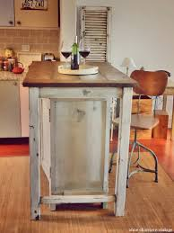 self made kitchen island ac tables works pinterest homemade