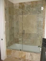 Bathtub Shower Door Glass Bathtub Doors Frameless Frameless Tub Enclosure Next To A
