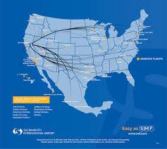 swa route map smf nonstop destinations