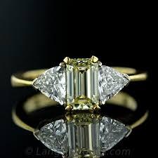 estate engagement rings estate engagement ring with yellow emerald cut