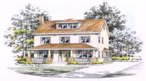 Four Square House Plans American Foursquare House Style Youtube