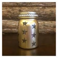 gold mason jar luminary gold wedding centerpiece gold lighted