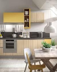cuisine jaune et blanche couleur pour cuisine 105 idées de peinture murale et façade