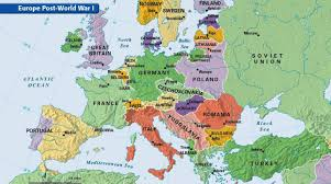 post ww1 map wwi transformed the map of europe could it change again