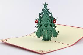 Tree Pop Up Snow Tree Cards 3d Trees Pop Up Card