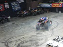 monster jam wags outside