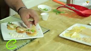 emission cuisine tv canap cuisine dairyfree blinis with cheesy pepper spread