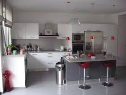 decoration cuisine gris best cuisine gris et blanc deco gallery lalawgroup us avec indogate