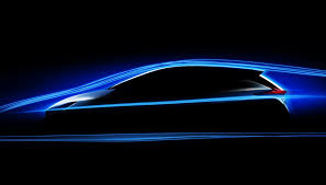 nissan next 2018 nissan leaf teaser sketch electric car debuts sept 5