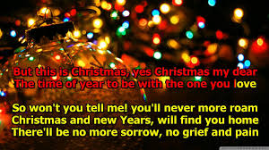 High Quality Christmas Decorations Please Come Home For Christmas Karaoke Original Version The