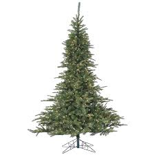 7 5 ft noble fir pine christmas tree with multi color led string