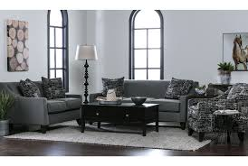 hallie ii marquis charcoal accent chair living spaces