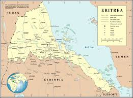 Political Map Of Canada Detailed Political Map Of Eritrea Eritrea Detailed Political Map