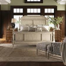 Wilshire Bedroom Furniture Collection Antique White Bedroom Furniture Heirloom Wood Poster Bed In