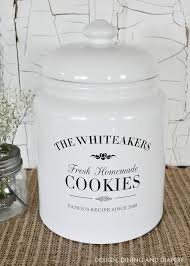 personalized cookie jars gift idea personalized cookie jar personalized cookies cookie