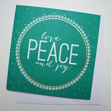 peace christmas card christmas lights decoration