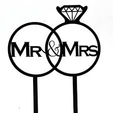 ring cake topper mr and mrs diamond ring cake topper south africa wedding shop