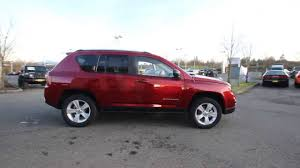 jeep crossover 2014 2014 jeep compass sport dark cherry red ed689287 everett
