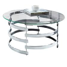 Chrome And Glass Coffee Table Chrome Glass Coffee Table Target