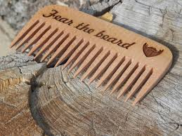 Unique Engraved Gifts Engraved Gift Wooden Comb Personalized Beard Comb Custom Gift