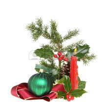 Christmas Bauble Table Decoration by Christmas Border Or Frame Of Red Ribbon Green Glass Bauble And