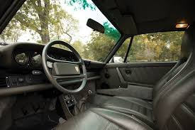 old porsche interior auction block 1988 porsche 911 turbo u0027flat nose u0027 hiconsumption