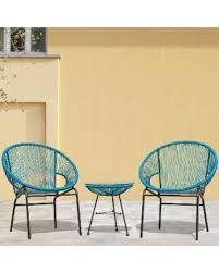 Woven Patio Chair Deal Alert Sarcelles Woven Wicker Patio Chairs By Corvus Set Of
