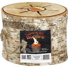 light and go bonfire light n go bonfire all natural portable birch log marshs