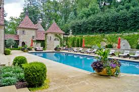 Pool Patio Decorating Ideas by Stunning Large Ceramic Flower Pots Decorating Ideas Images In Pool