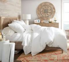 Plain White Comforters Bedding U0026 Bed Sheets Pottery Barn