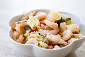 shrimp pasta salad recipe simplyrecipes com