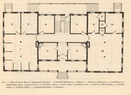 file fmib 40292 plan of main floor of laboratory building 1