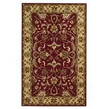 home decorators area rugs home decorators collection constantine burgundy 8 ft x 11 ft area