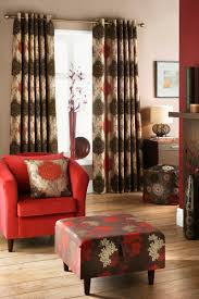 Drapes Living Room Patterned Curtainsng Room Grey Blue Red Delightful Beautiful