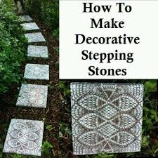 73 best stepping stones images on garden stepping