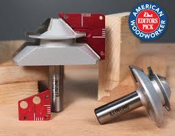 Wood Joints Router by Lock Mitre Jig Set Infinity Tools
