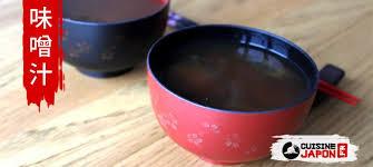 cuisine japonaise recette facile recette rapide et facile de la soupe miso cuisine japon