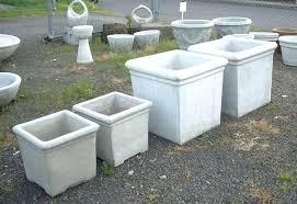 large concrete planter small concrete planters a small concrete planter organizer small