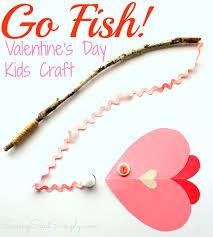 fish valentines s day kids craft go fish raising whasians