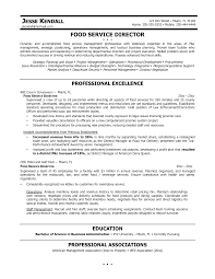 Resume Objective Food Service Resume Fast Food Restaurant Manager Resume