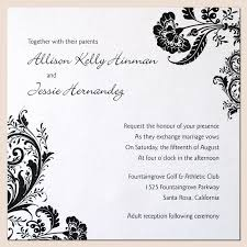 Customizable Wedding Invitations Wedding Invitations Patterns Kmcchain Info