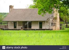 dog trot cabin lyndon b johnson national historical park texas