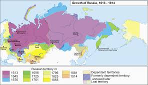Geography Of Russia by The Expansion Of Russia 1613 1914 Based On A Map By Yuri Koryakov