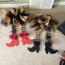 witch leg wreath halloween pinterest witch legs witches and