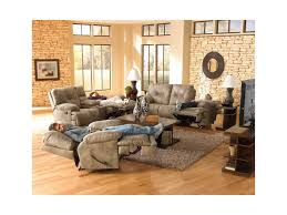 Catnapper Leather Reclining Sofa Catnapper Voyager 3 Seat