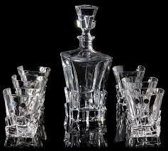 barware sets 2018 barware bar sets czech imports bohemia crystal whiskey wine