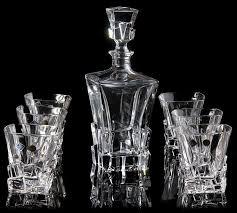barware sets 2018 barware bar sets czech imports bohemia crystal whiskey wine