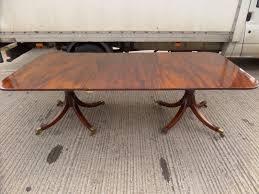 Mahogany Boardroom Table Reproduction Mahogany 2 Leaf Dining Boardroom Table Luof