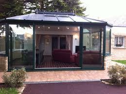 photos de verandas modernes pavillon moderne 86m2 calme sans vis à vis jardin véranda